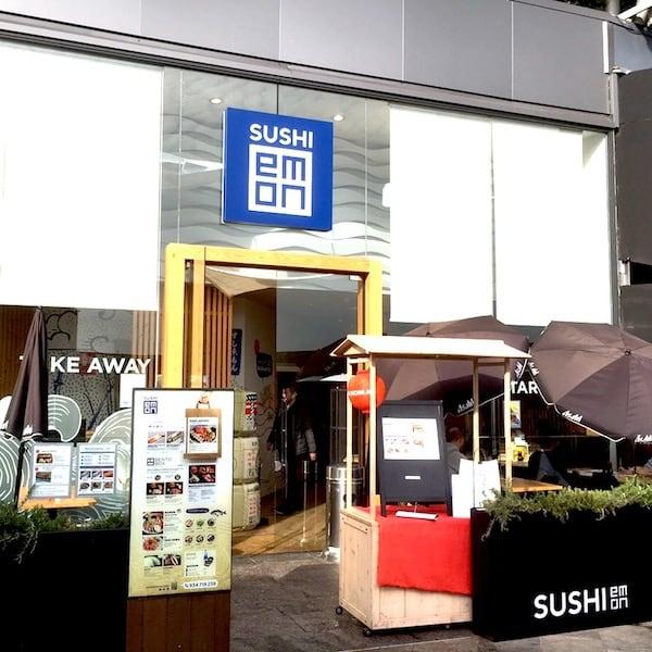 Sushi Restaurant  appearance