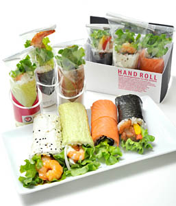 sushi handroll